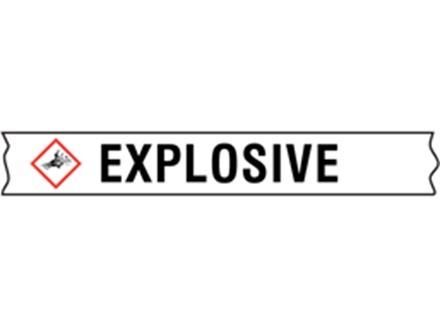 Explosive GHS tape.