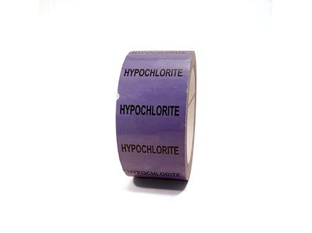 Hypochlorite pipeline identification tape.