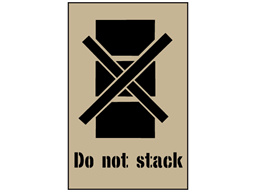 Do not stack stencil