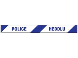 Police, Heddlu barrier tape