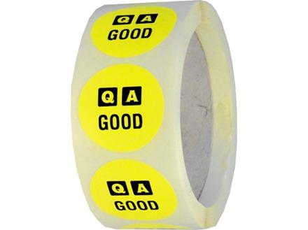 QA Good label