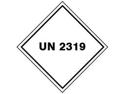UN 2319 (Turpene hydrocarbons) label.