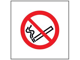 No smoking symbol safety sign.