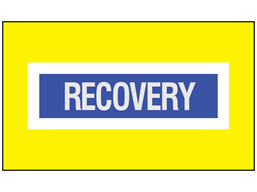 Recovery safety armband