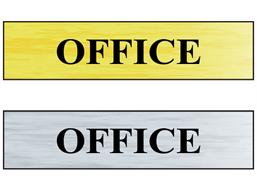 Office public area sign