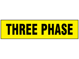 Three Phase label