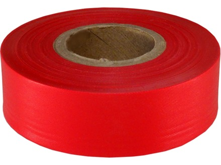Red flagging tape