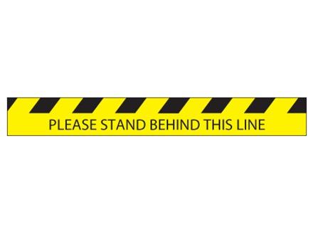Social Distancing Floor Marker