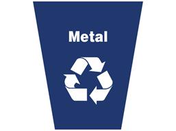 Metal waste sack