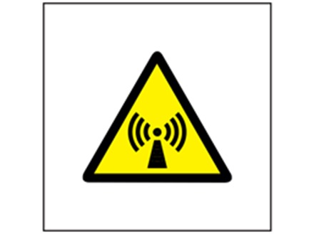 Non Ionizing Radiation Symbol Safety Sign Ws3530 Label Source