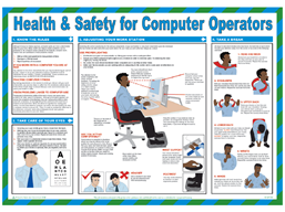 Health and safety for computer operators guide.