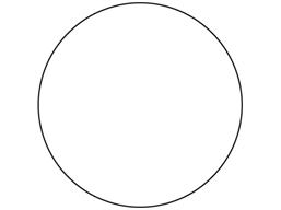 Floor marking circles