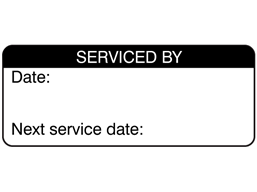 Serviced by label