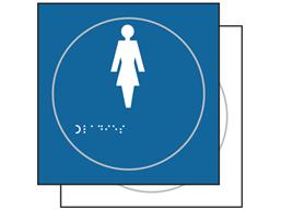 Ladies symbol sign.