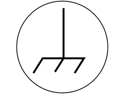 Ground symbol label.