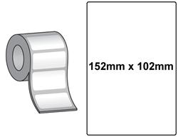Large shipping label (QL printer range)