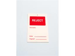 Reject tag