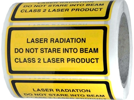 Laser Radiation Do Not Stare Into The Beam Class 2 Laser