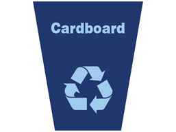 Cardboard waste sack