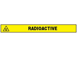 Radioactive barrier tape