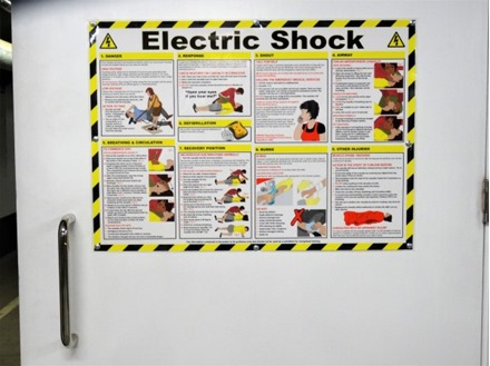 Electric shock treatment guide.