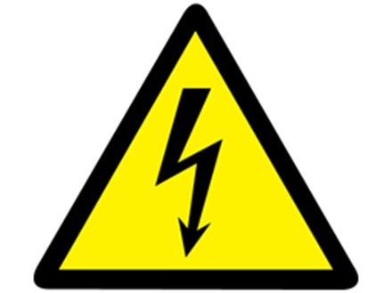 Electrical Warning Symbol Label Rwl102 Label Source