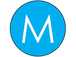 Middle conductor DC symbol label.