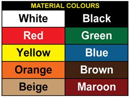 Floor marking squares