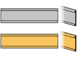 Doorplate, holder, standard style