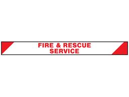 Fire & Rescue service barrier tape