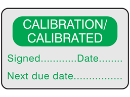 Calibration / calibrated label