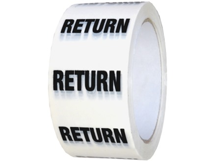 Return pipeline identification tape.