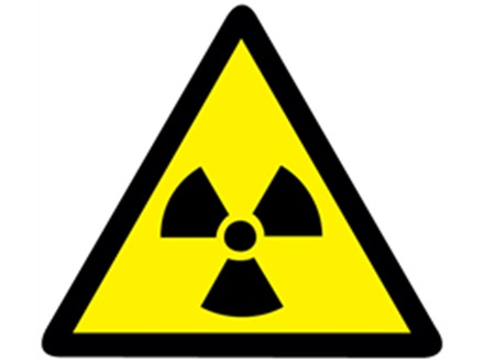 Radiation Warning Symbol Label Rwl105 Label Source