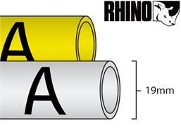 Dymo Rhino heat shrink tube tape (19mm)