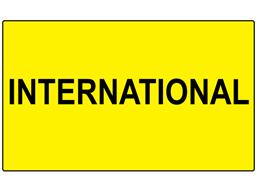 International labels