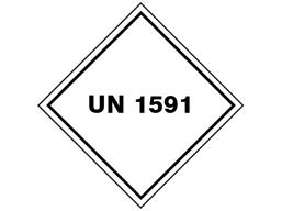 UN 1591 (Dichlorobenzene ) label.