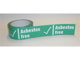 Asbestos free safety tape.