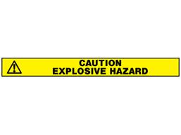 Explosive hazard barrier tape