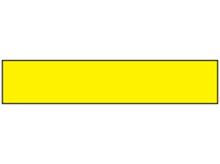 Safety and floor marking tape, yellow.