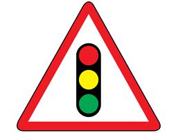 Traffic signals sign