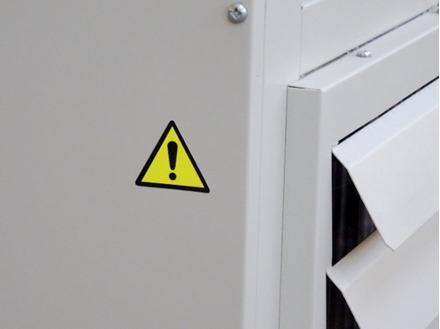 Caution Symbol Label