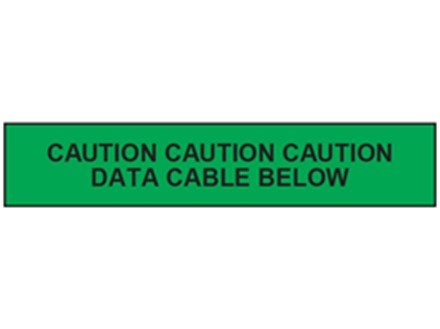 Caution data cable below tape.