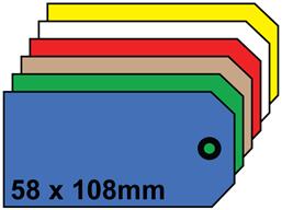 Plain tags, size 4.