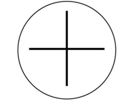 Positive current symbol label