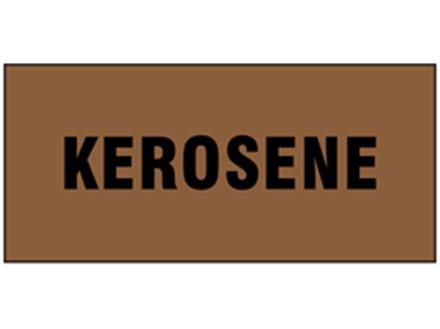 Kerosene pipeline identification tape.