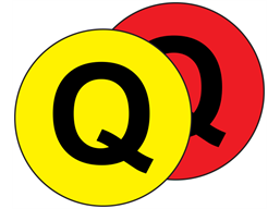 Aisle floor markers, Q