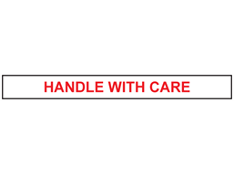 'Handle With Care' Tape