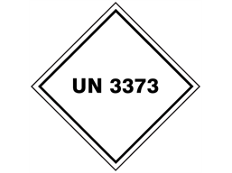 un3373 hazard diamond label hw2200 label source