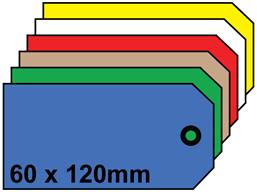 Plain tags, size 5.