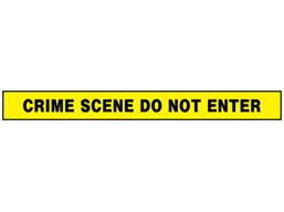 Crime scene do not enter barrier tape
